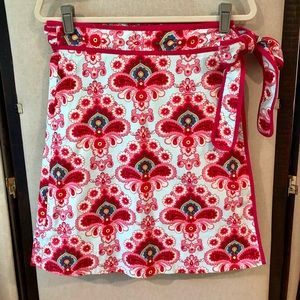 Lesley Evers wrap skirt